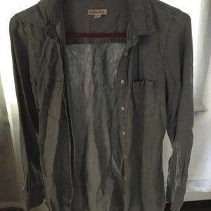 Merona Military Jacket With 2 Chest Pockets